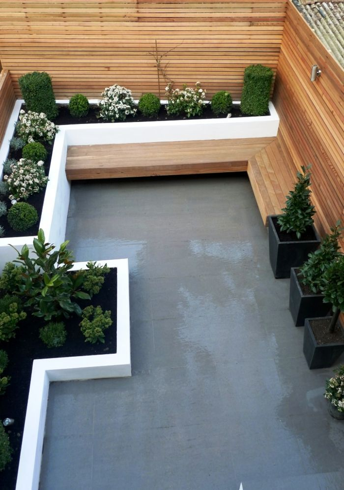 Raised beds, seating