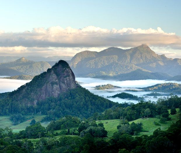 Mt Warning, NSW  rainforest way. great australian road trip. australia. new south wales.