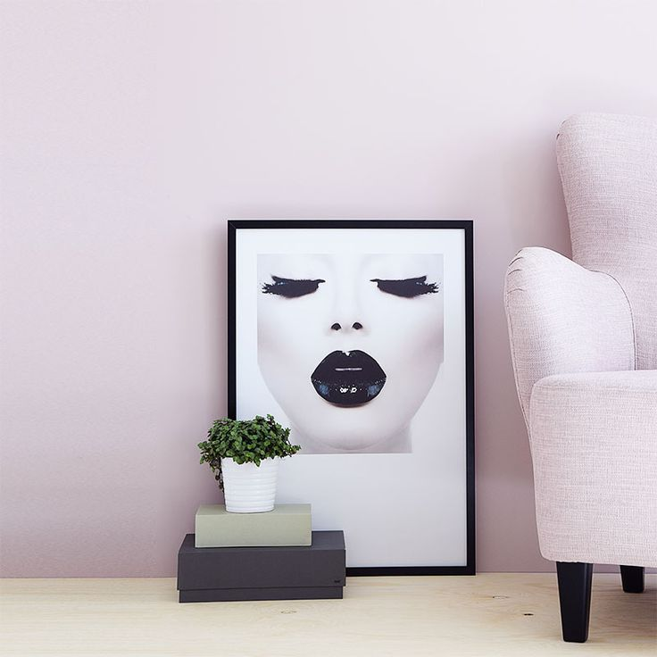 """Black"" poster. Very stylish fashion poster that goes well with minimalistic and Scandinavian home décor. More fashion prints and photographic posters can be found at www.desenio.se / www.desenio.co.uk"