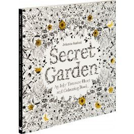 The Secret Garden An Inky Treasure Hunt And Colouring Book By Johanna Basford