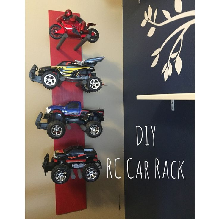 DIY RC Car Rack!