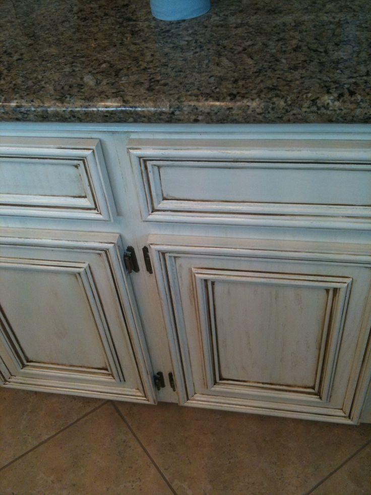 Sue's Refinished Kitchen Cabinets | Refinish kitchen ...