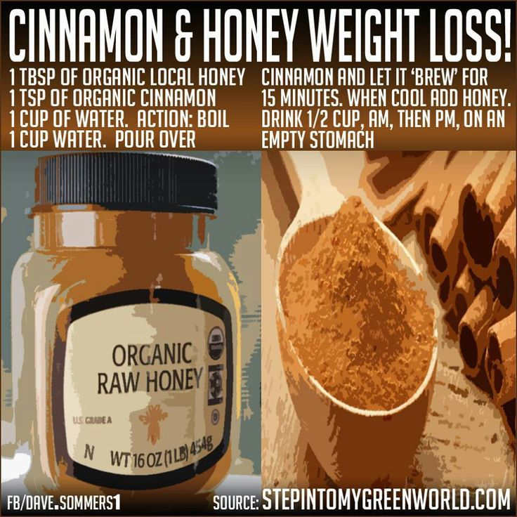 honey weight gain or loss