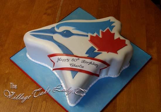 Awesome Blue Jays cake!