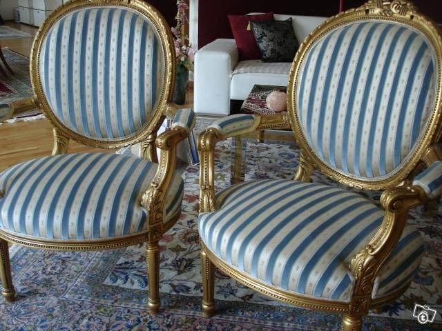 2 antike Sessel Louis XVi