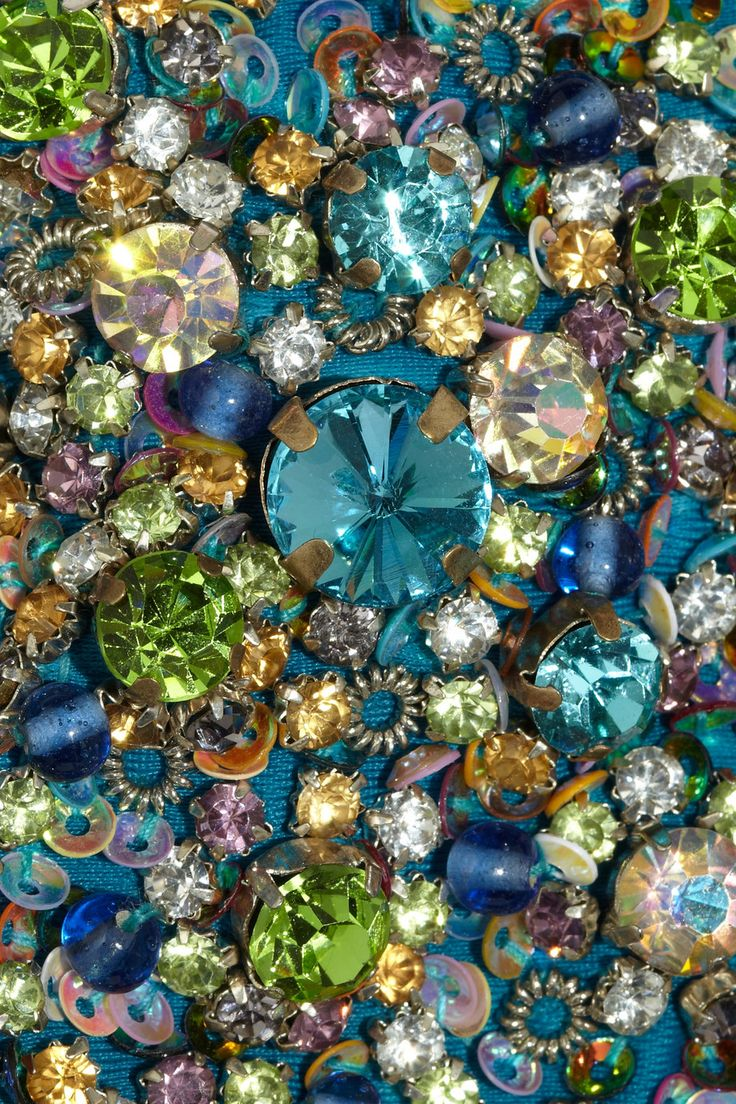 Tara Matthews | Embellished bandeau bikini | NET-A-PORTER.COM- just pretty bling  to me,,,