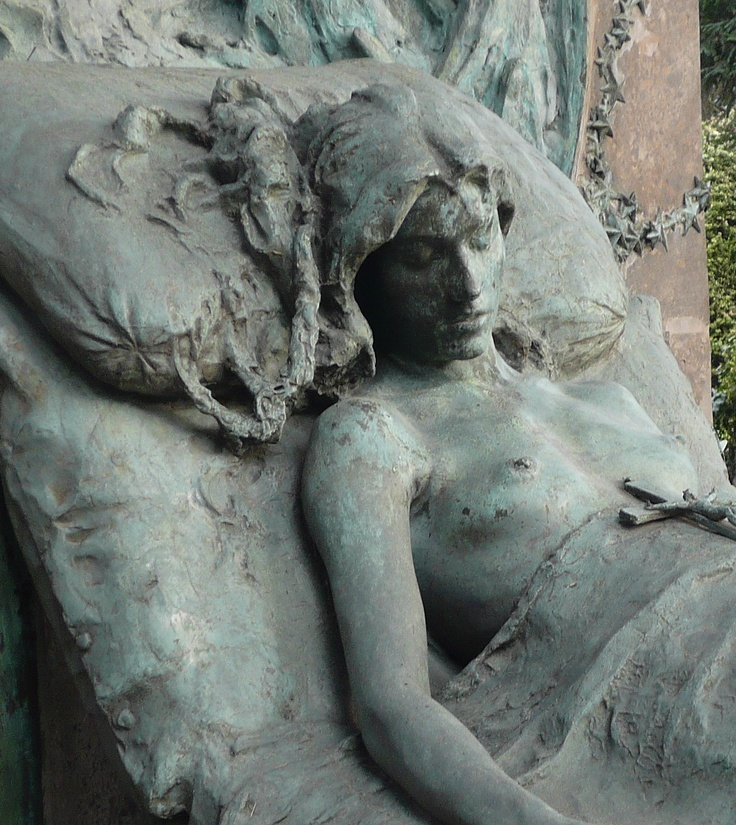 Isabella Casati from Monumentale Cemetery in Milan, Italy