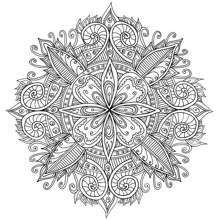 Zen Mandalas Coloring Book : 4370 best coloring pages images on pinterest