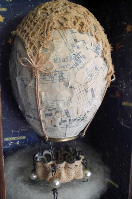 Paper mache balloon: Crafts Ideas, Crochet Art, Paper, Art 2014, Air Balloons, Crafty Inspiration, 5Th Grade, Avery'S Steampunk, Grade Lessons
