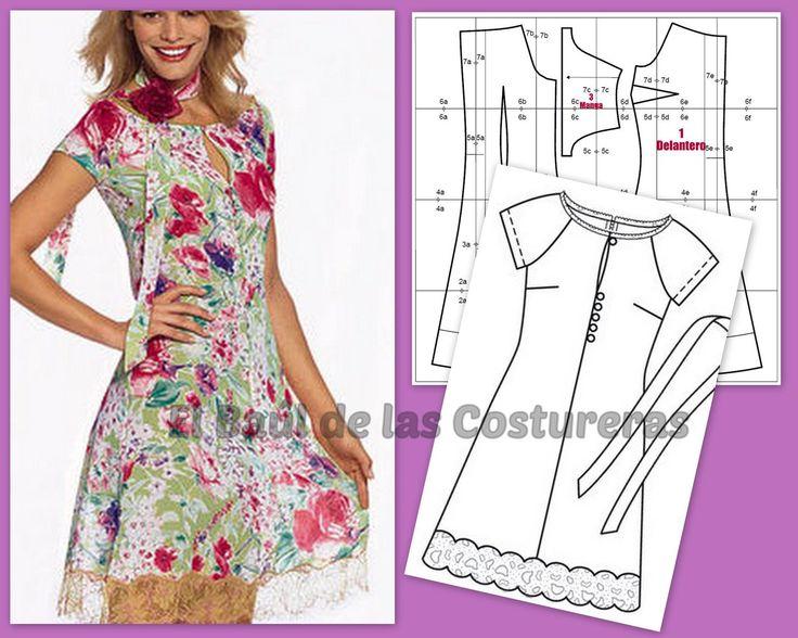 Dress Burda pattern