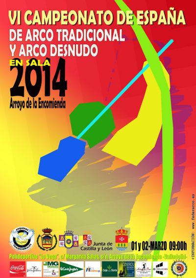 Arroyo de la Encomienda acoge el VI Campeonato de España de Tiro con Arco tradicional y desnudo el 1 y 2 de marzo http://revcyl.com/www/index.php/deportes/item/2886-arroyo-de-la-encomienda-acoge-el-vi-campeonato-de-espa%C3%B1a-de-tiro-con-arco-tradicional-y-desnudo-el-1-y-2-de-marzo