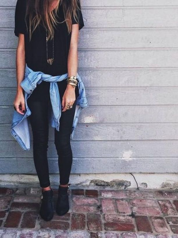 because im addicted because im addicted » Outfit Inspiration: Tie It Around Your Waist