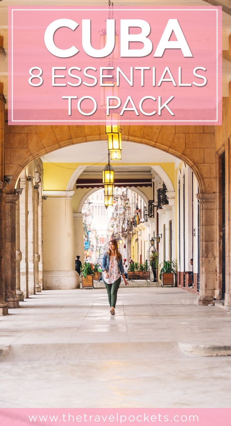Top 8 essentials to pack for your Cuba trip