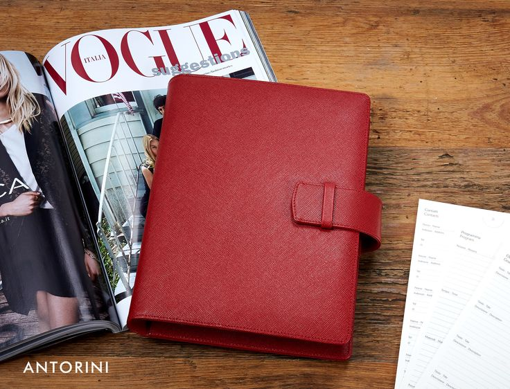 Luxury Organisers, Diaries & Journals, http://www.antorini.com   #Antorini #organisers #diaries #luxury #leatheraccessories #business #Vogue