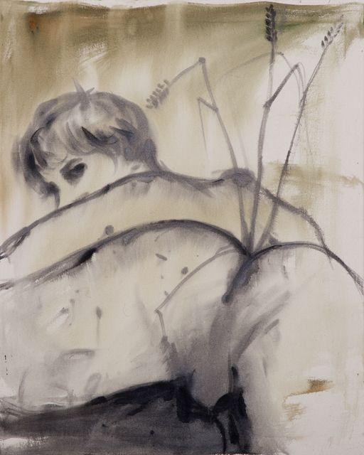 Резултат слика за Andrej Dubravsky, 'Anal ikebana (green),' 2015, DITTRICH & SCHLECHTRIEM