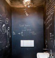 Ambiance éphémère dans les WC - Marie Claire Maison