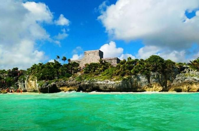 Tulum Ruins and Playa del Carmen Sunset Tour This tour is the best combination for touring Riviera Maya. Visit the Mayan Archeological site of Tulum and shop Playa del Carmen´s world famous 5th Avenue at sunset. Leave the crowds and the heat behind and see these places at the best time of day. Stroll and admire a Caribbean sunset and shop the famous 5th avenue when it reaches its maximum splendor. Get amazed at the Tequila Museum as you get to know the best tequilas prod...
