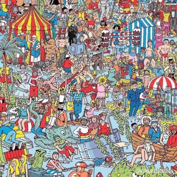 Bernie Sanders Mittens Inauguration Photo Becomes A Meme Heavy Com In 2021 Where S Waldo Pictures Wheres Waldo Wheres Wally