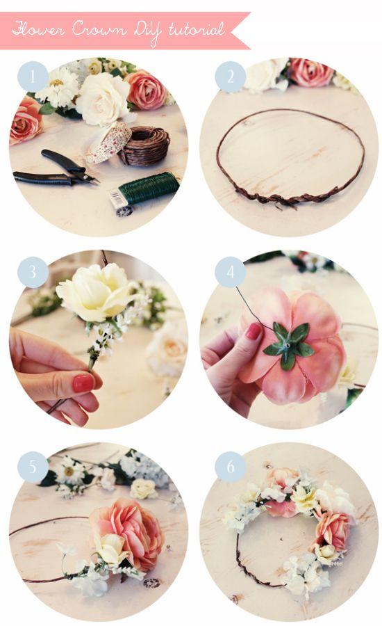 Floral crowns, coroncine di fiori