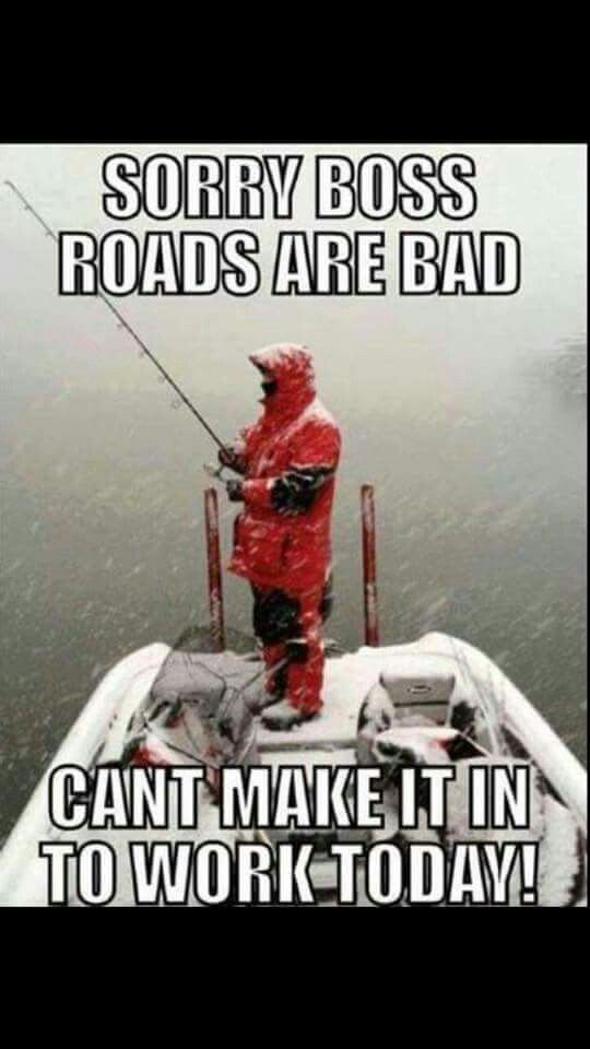 I'd rather be fishing anyway