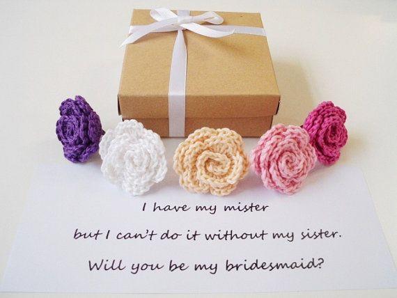 Will you be my bridesmaid gift box Bridesmaid by prettyobject
