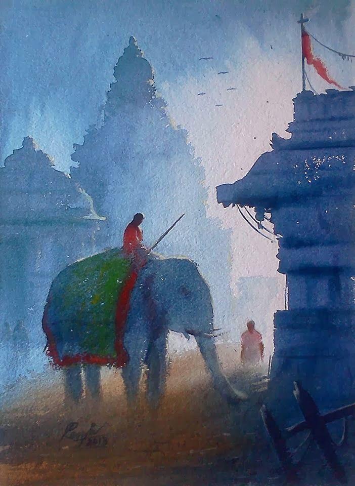 Artodyssey: India  by  MV Renju