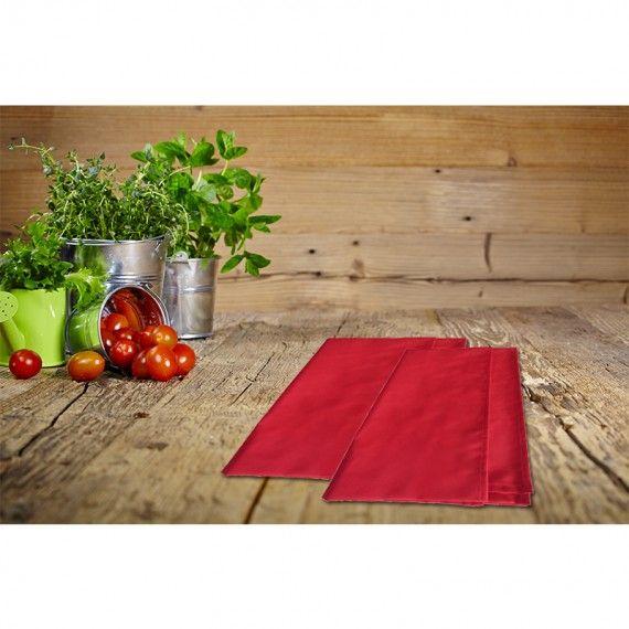 strofinaccio cucina colors rosso magie di casa