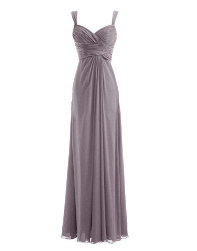 Diyouth Chiffon Spaghetti Straps Ruffles Long Bridesmaid Dress Grey Size 2 Diyouth http://www.amazon.com/dp/B00LQMPGZA/ref=cm_sw_r_pi_dp_JGk0tb0ZAZVPESCP