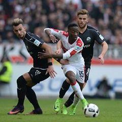 German Bundesliga Football - VfB Stuttgart vs SV Sandhausen