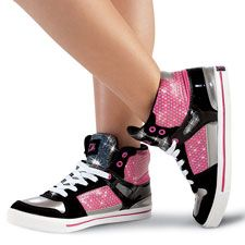 Gotta Flurt High-Top Hip Hop Sneaker, wish these came in green, still like them though!