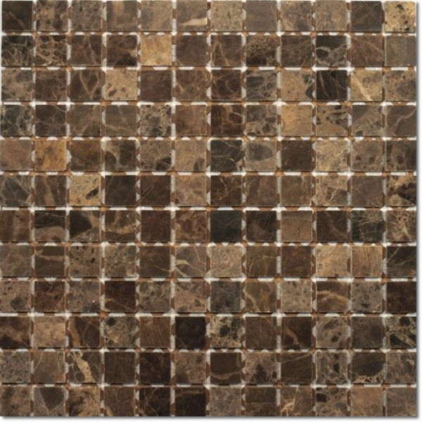 Dell'Arte - mozaiki dekoracyjne Marble Black Połysk 23 (plaster 30x30)