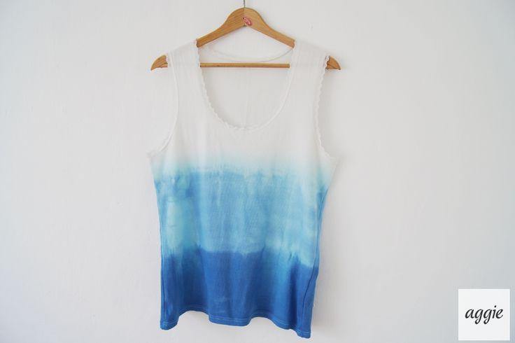 ombre t-shirt DIY