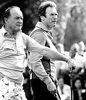Golfing with Clint Eastwood at Palm Springs Desert Classic in 1979