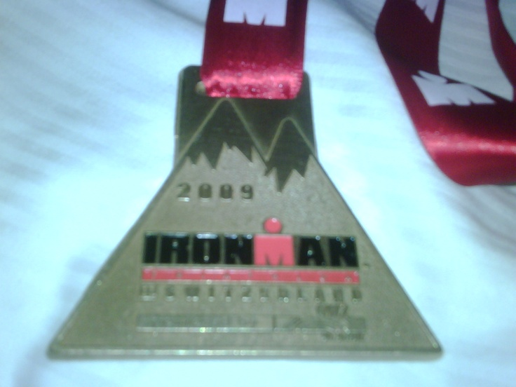 IronMan Switzerland medal