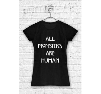 koszulka amrican horror story all monsters are human