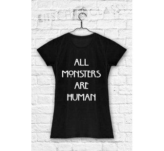 koszulka amrican horror story all monsters are human
