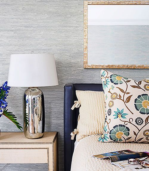 A Summery Home In Florida Home Decorating Ideas Good Housekeeping Floral Printed Accent Pillow