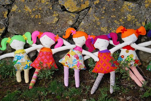 Cloth doll party! | Flickr - Photo Sharing!