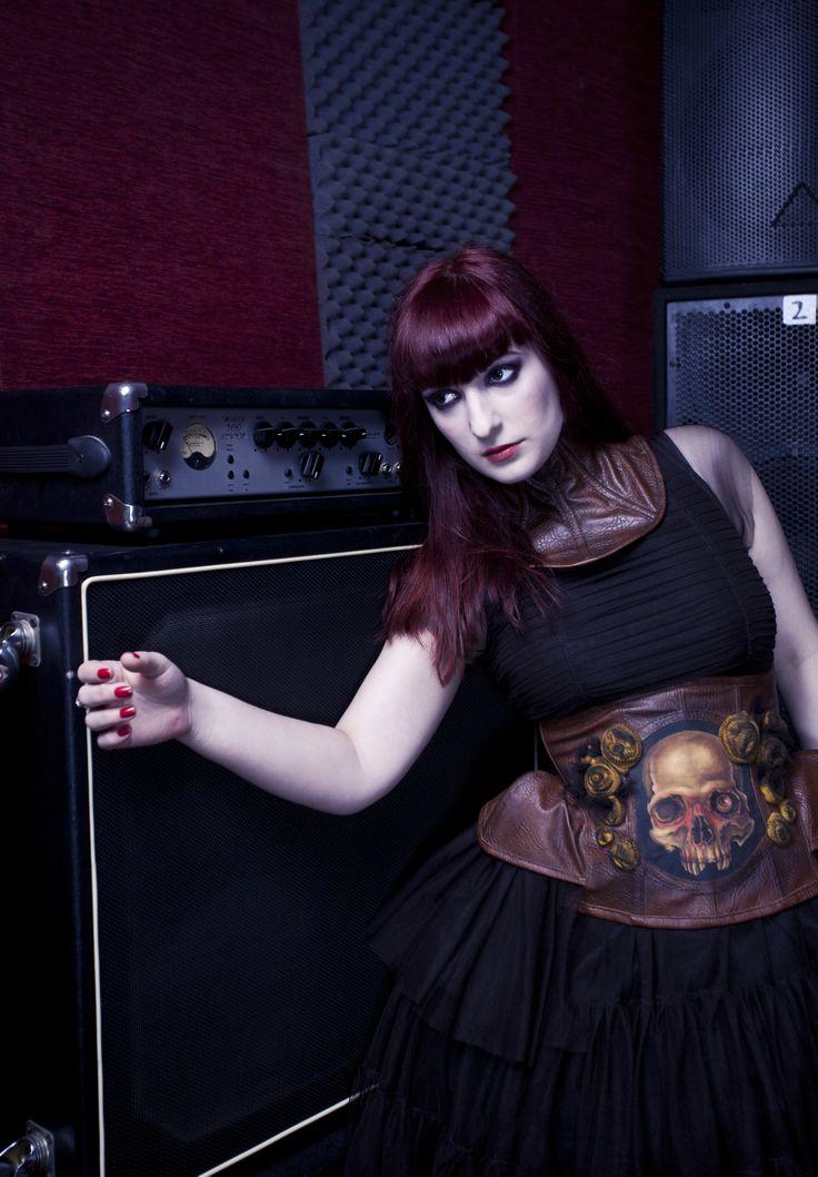 skull corset