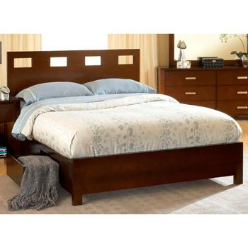 Laurel Espresso King Bed