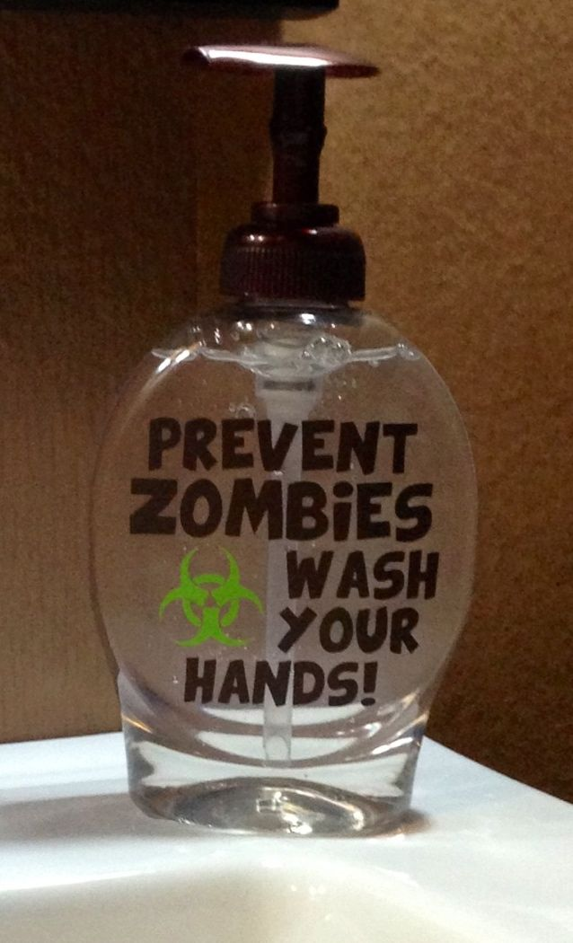 To actually get little boys to wash their hands!