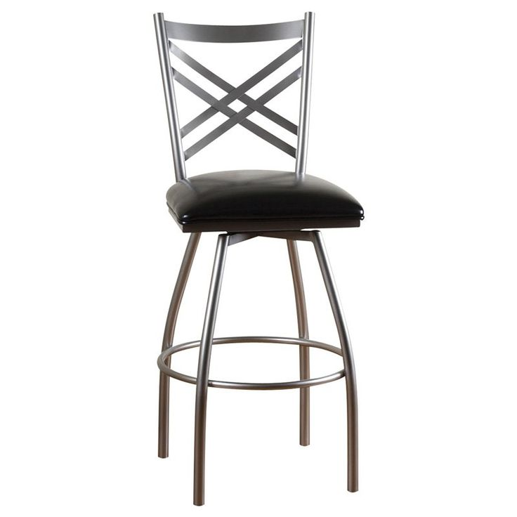 Have to have it. AHB Alexander 30 in. Swivel Bar Stool - Silver $199.95