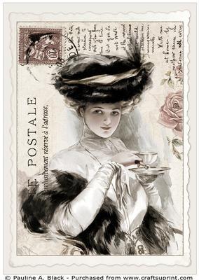 Vintage Fisher Postcard 7