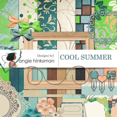 Cool Summer By Angie Hinksman
