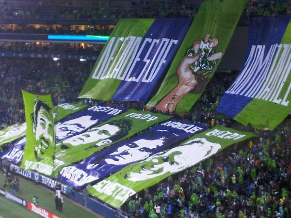 Emerald City Supporters, Seattle Sounders FC, Major League Soccer