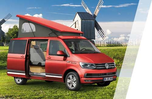 details zum reimo campingbus multistyle auf vw t6. Black Bedroom Furniture Sets. Home Design Ideas