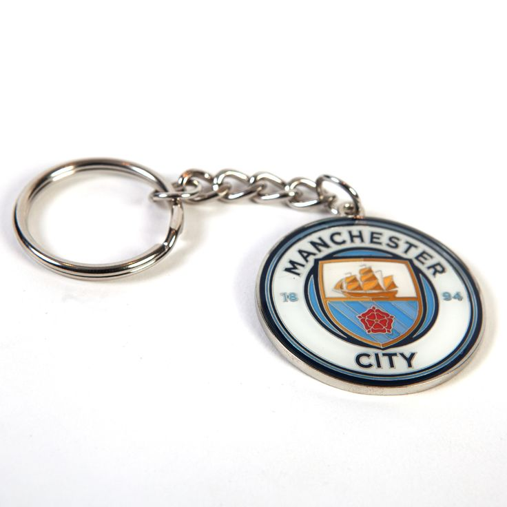 Manchester City F.C. Crest Keychain MD - Rs. 399 Official#Football #Merchandisefrom#EPL