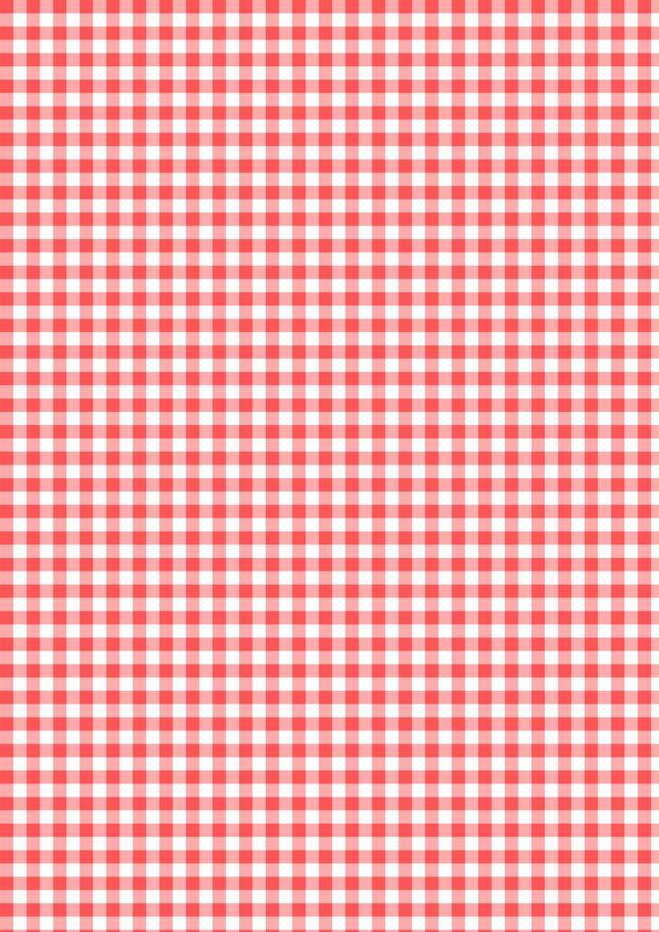 Free digital red gingham scrapbooking paper - ausdruckbares Geschenkpapier - freebie | MeinLilaPark – DIY printables and downloads