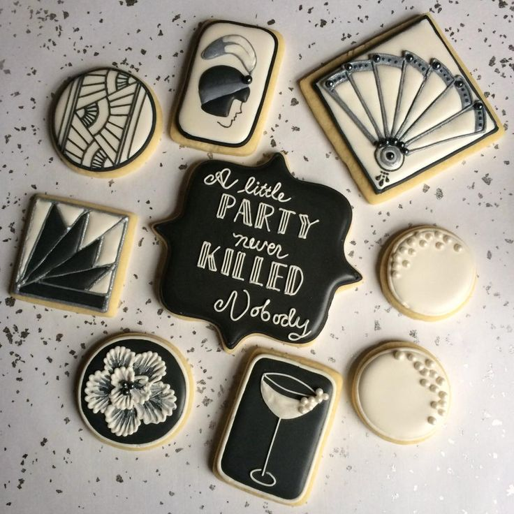 A little party never killed nobody.... and neither did biscuits! www.thegatsbygirls.com