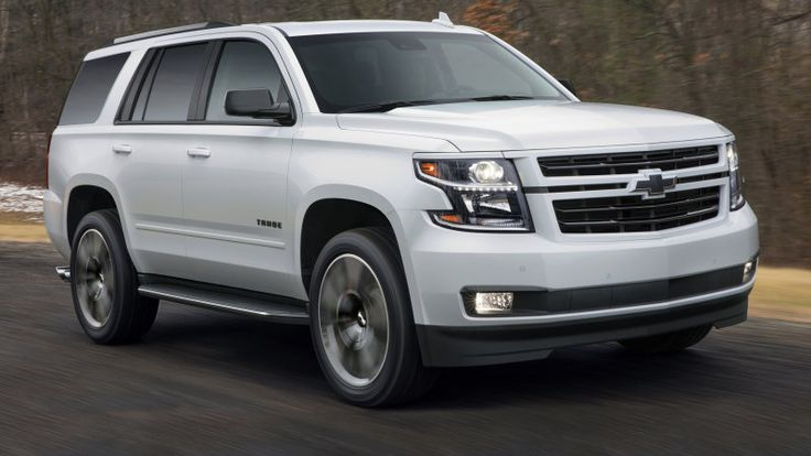 2018 Chevy Tahoe RST gets a 420-horsepower 6.2-liter V8 option